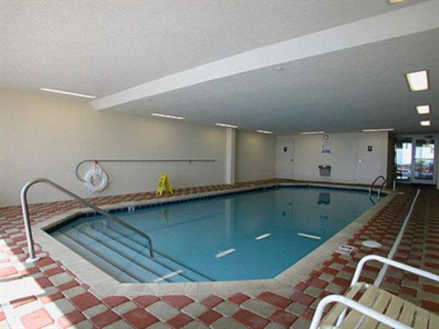 The indoor pool at Enclave