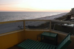 Westerly view from balcony