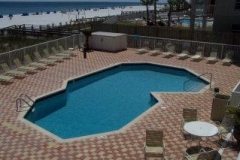 The Enclave's outdoor pool